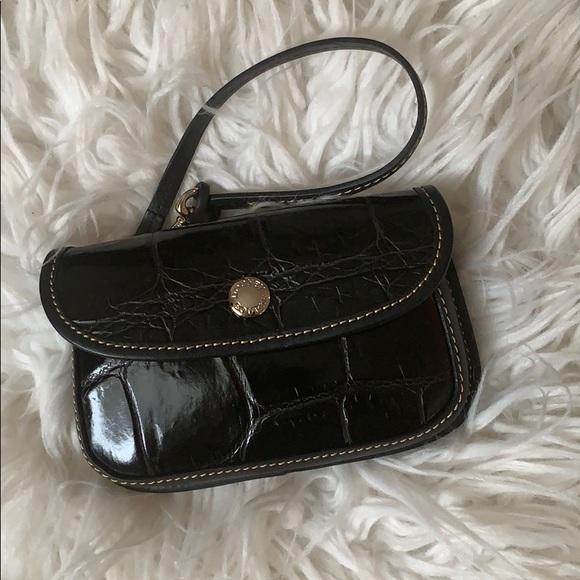 Dooney & Bourke Handbags - Dooney & Bourke Croco Embossed Wristlet